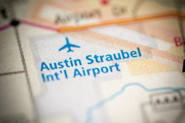 Austin Straubel International Airport, Green Bay, Wisconsin